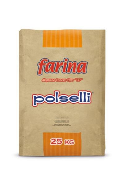 Polselli Pack Farina Pane 25kg