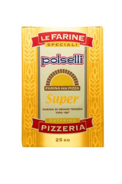 Polselli Pack Farina Pizza Super 25kg