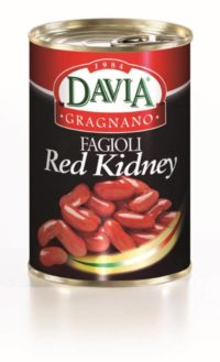 Davia Gragnano Fagioli Red Kidney in Scatola
