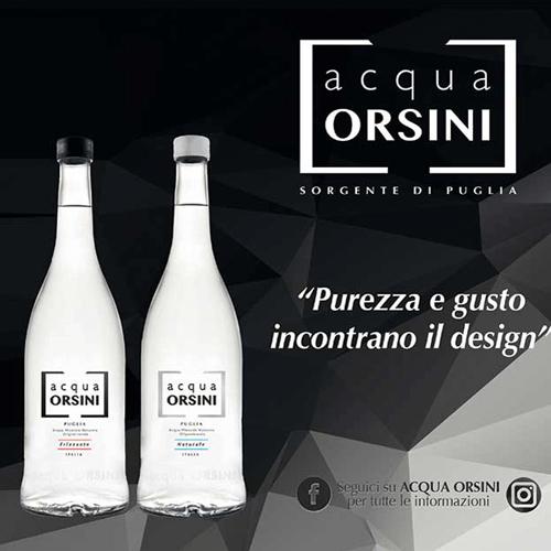Acqua Orsini - Linea Nero